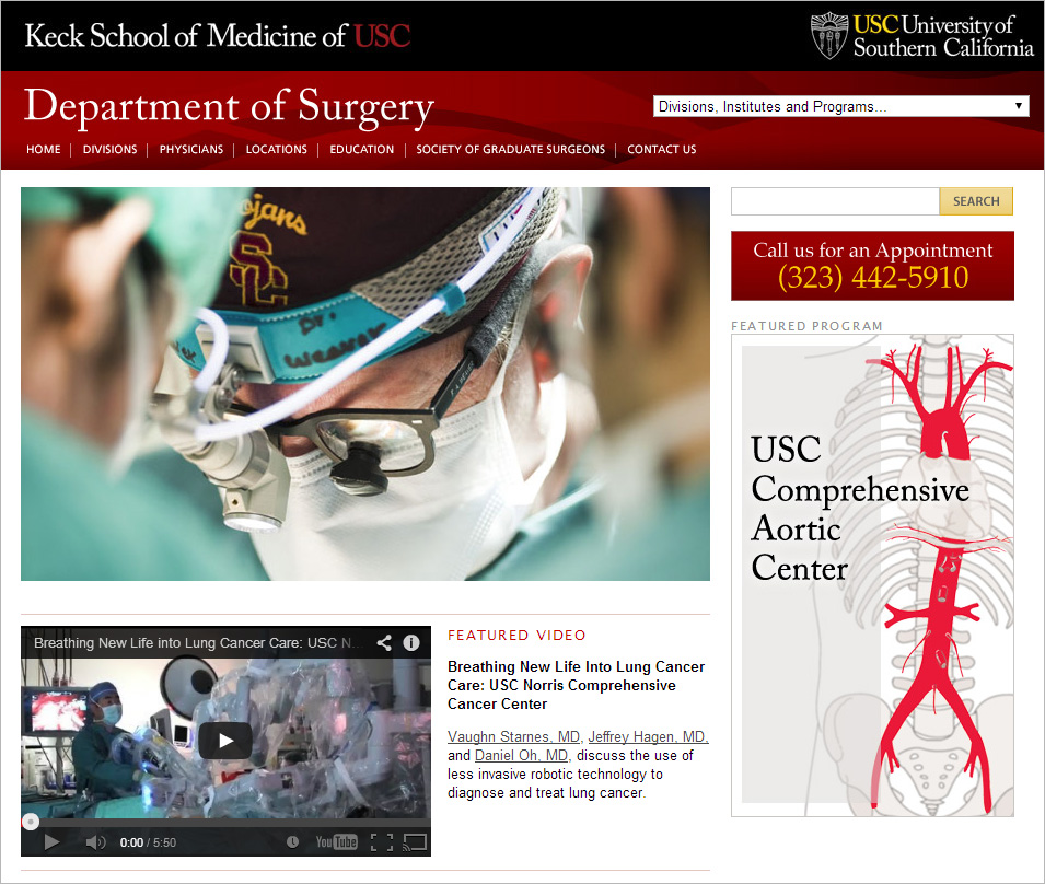 Keck USC Dept. of Surgery