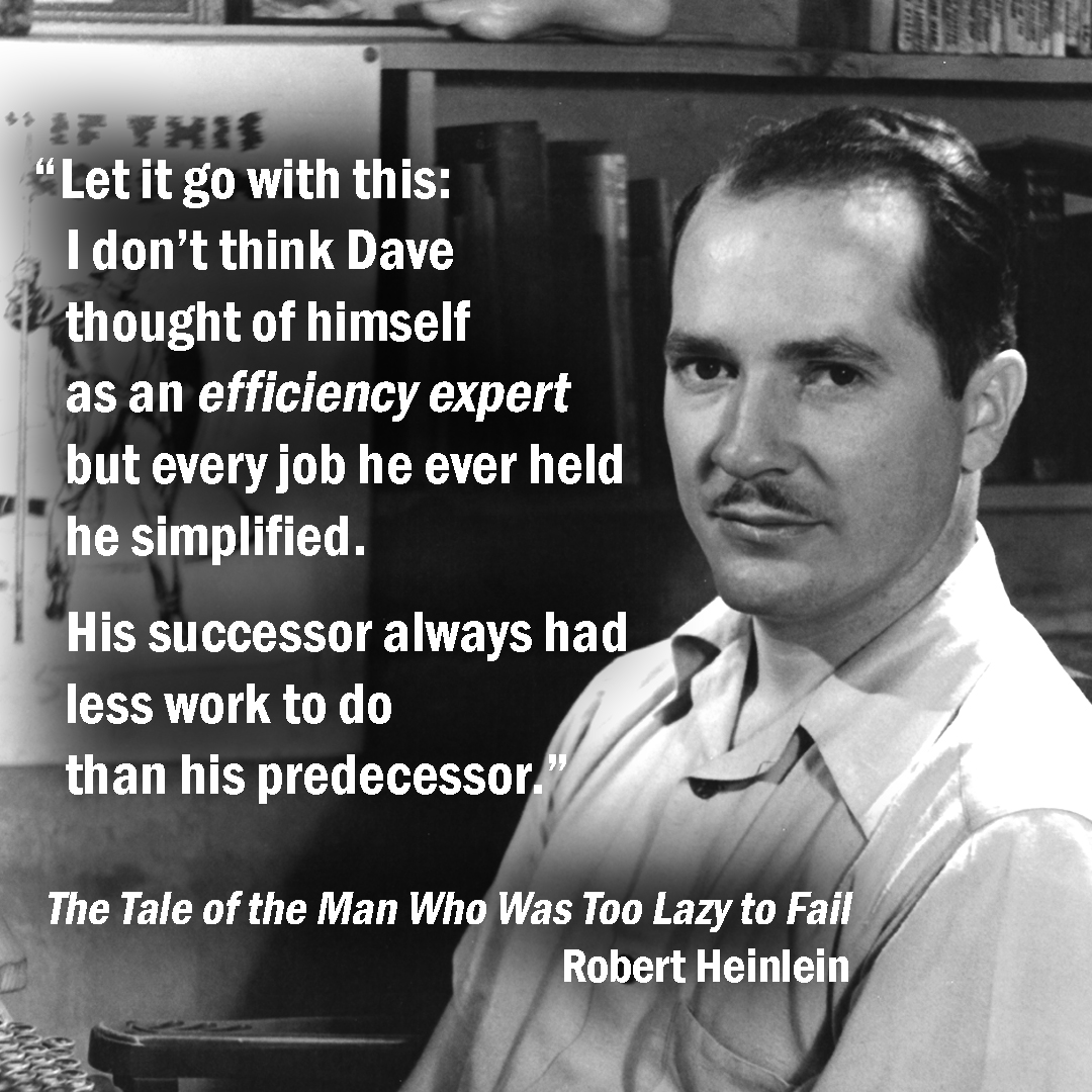 Excerpt from The Man Who Was Too Lazy to Fail
